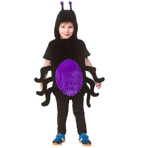 Childrens Child Tabard - Spider Costume Unisex Fancy Dress